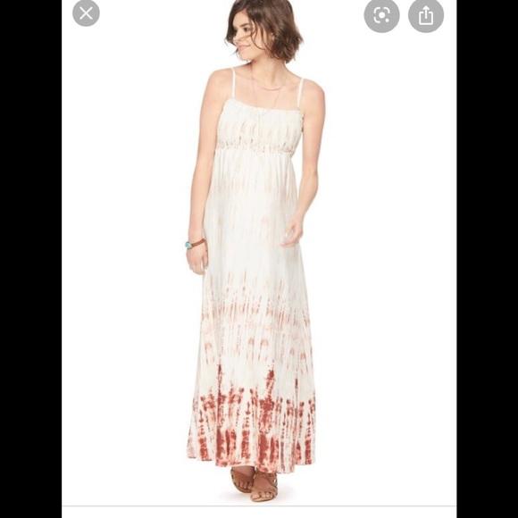 Motherhood Maternity Dresses & Skirts - Motherhood maternity smocked maxi dress EEUC